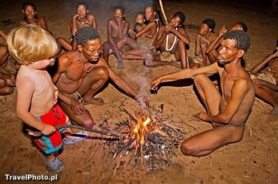 NAMIBIA U Buszmenów