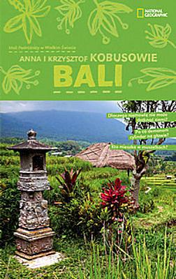 Książka BALI wydana przez National Geographic