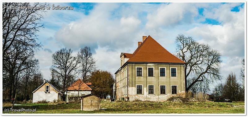 Pałac Heymanna w Ściborzu - w trakcie odbudowy