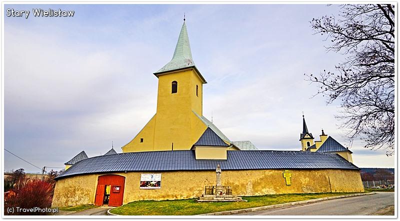 Stary Wielisław - widok od zachodu