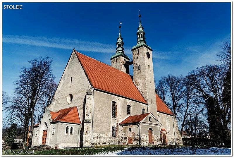 Stolec - kościół z XIII wieku