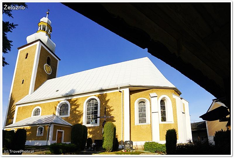 Żelazno - kościół św. Marcina