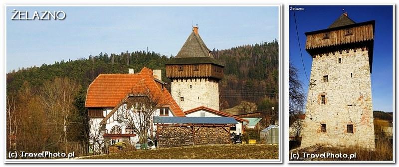 Żelazno - średniowieczna wieża mieszkalna