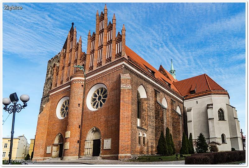 Ziębice - bazylika pw. św. Jerzego Męczennika i sanktuarium Męki Pańskiej,