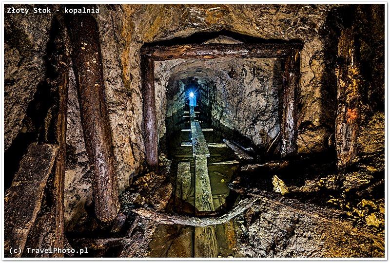 ...jak wyglądają nie udostępnione do zwiedzania części kopalni.