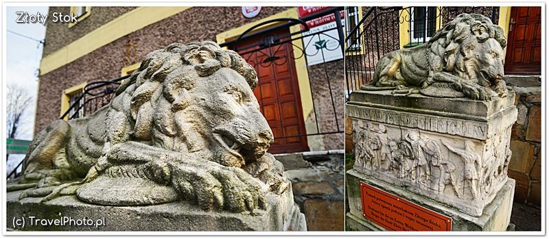Złoty Stok - pomnik upamiętniający poległych mieszkańców w I wojnie