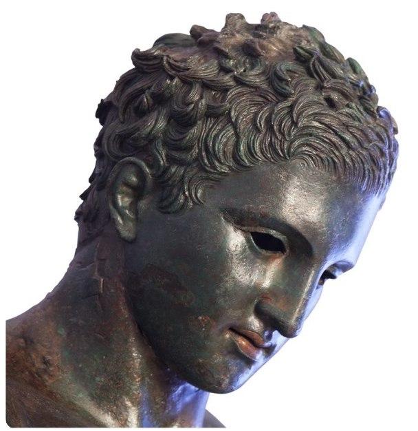 Wyspa Losinj, Głowa posągu Apoxyomenos - (c) visitlosinj.hr