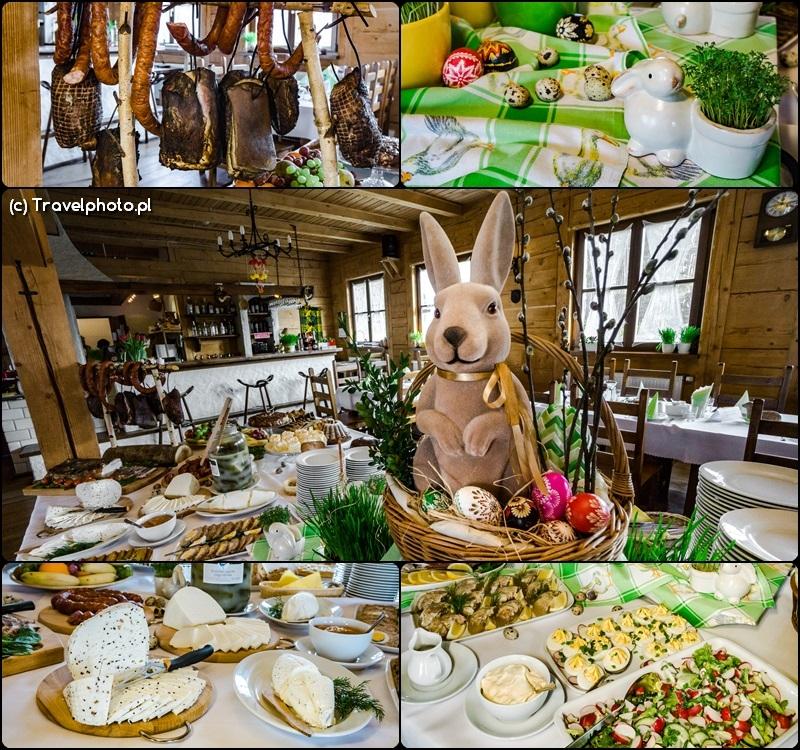 Wielkanocne śniadanie w Zagrodzie Kuwasy