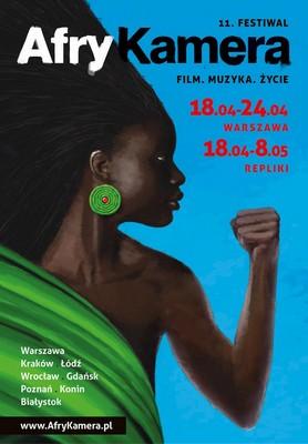 Festiwal Afrykamera 2016 plakat