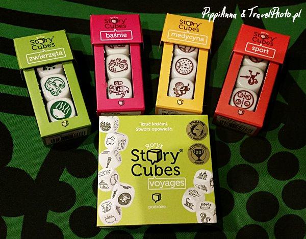 Różnorodność Story Cubes pozwala na tworzenie opowieści na praktycznie każdy temat.