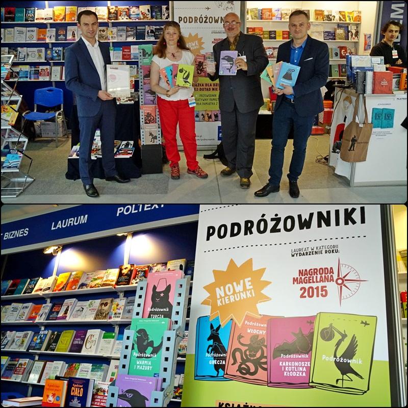 Warszawskie Targi Książki 2016 - na stoisku MAC Edukacja