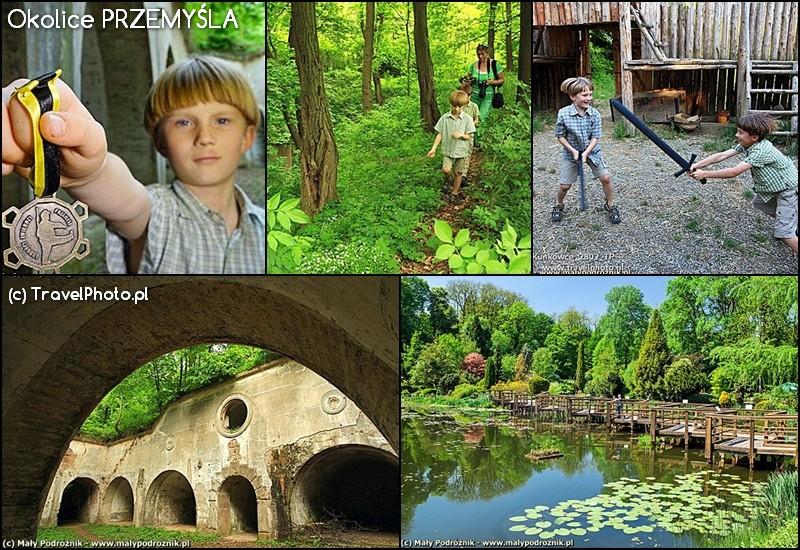 Okolice Przemyśla - forty, arboretum w Bolestraszycach i wioska fantasy Kuńkowce