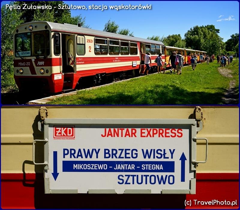 Pętla Żuławska - Sztutowo, Jantar Express