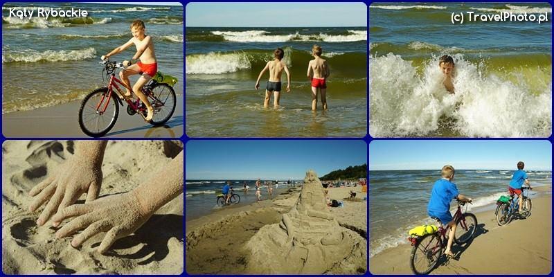 Kąty Rybackie - plaża cd....