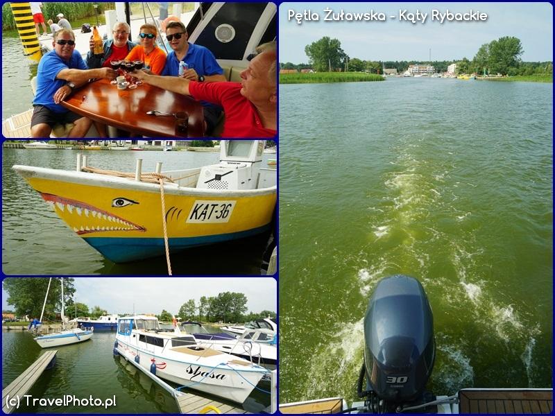 Pętla Żuławska - ostatnie chwile w Kątach Rybackich i odpływamy