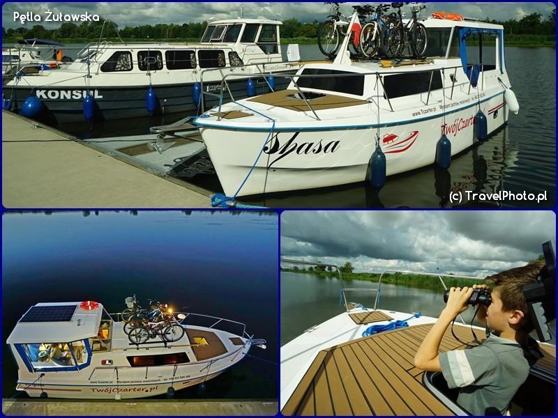 Pętla Żuławska - jacht motorowy Weekend 820