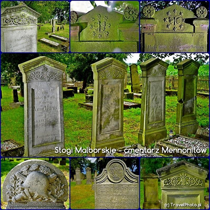 Stogi Malborskie - cmentarz Mennonitów