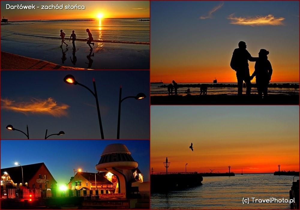 Darłówek zachód słońca....