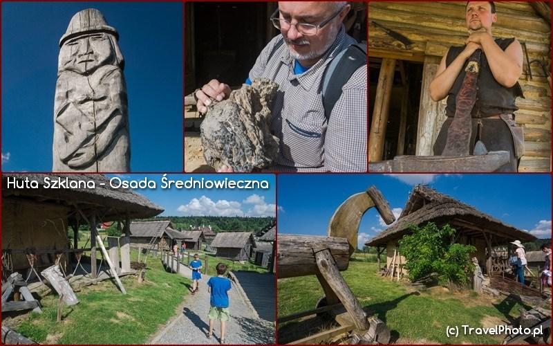 Huta Szklana - Osada Średniowieczna, trzymam w rękach to co pozostaje z dymarki