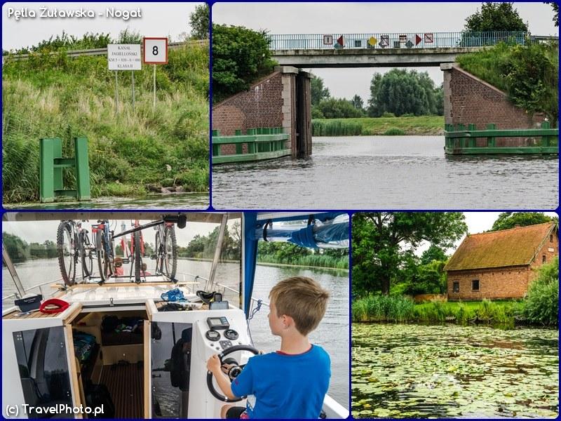 Pętla Żuławska - wejście do Kan. Jagielońskiego, stery na tym odcinku przejął Staś