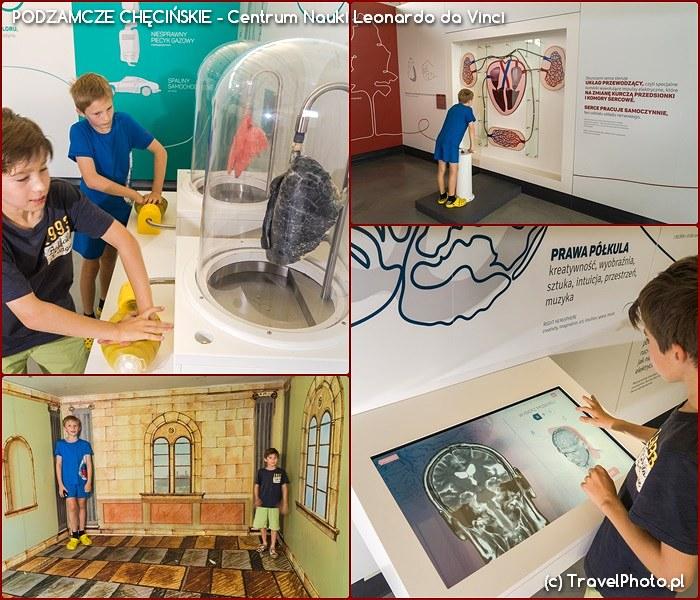 PODZAMCZE CHĘCIŃSKIE - Centrum Nauki Leonardo da Vinci