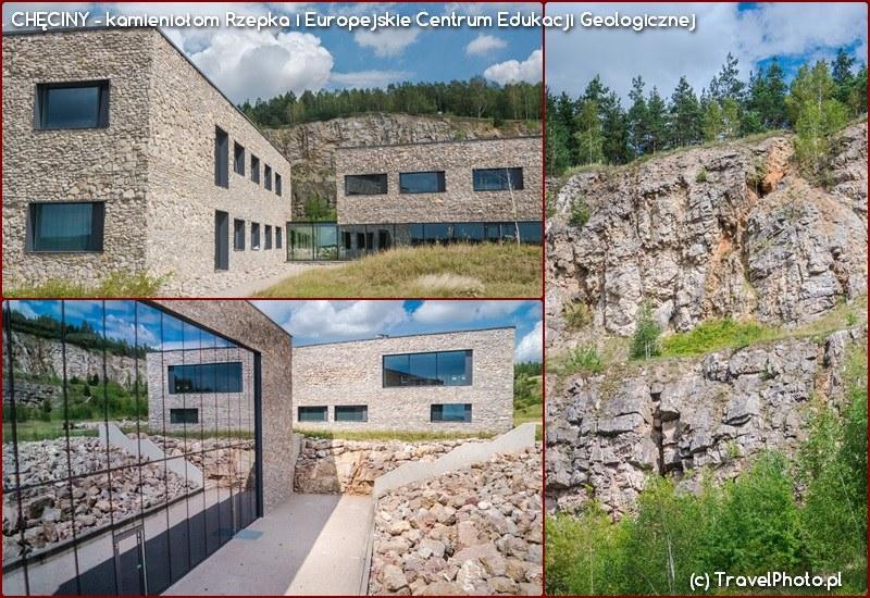 Chęciny - kamieniołom Rzepka i Europejskie Centrum Edukacji Geologicznej