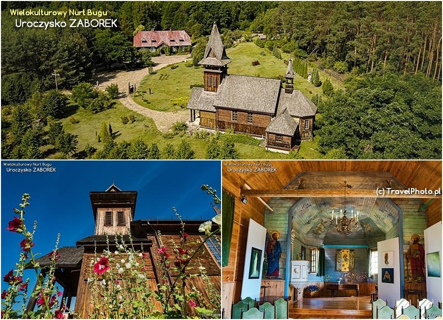 Odkryj swój EDEN w Polsce - Uroczysko ZABOREK - Stara Plebania i kościół