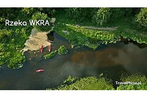 Spływ kajakowy – rzeka WKRA, odcinek Bolęcin > Joniec