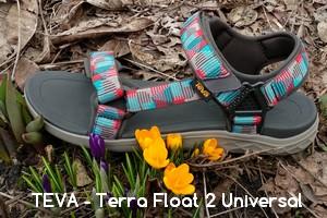 Sandały TEVA – Terra Float 2 Universal (cz. 1 testu)