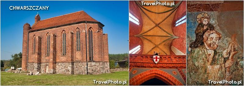 Chwarszczany - kaplica templariuszy