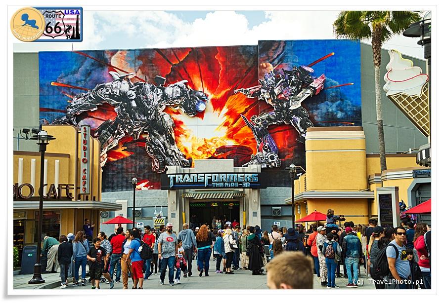 LA - Universal Studios, Transformers