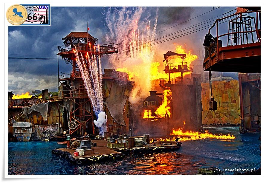 LA - Universal Studios, Waterworld