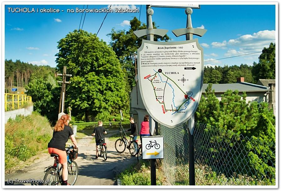 Na rowerach przez Bory Tucholskie - do Piekiełka z Jagiełłą... ;-)