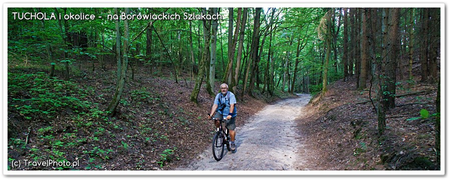 Na rowerach przez Bory Tucholskie - do Piekiełka...