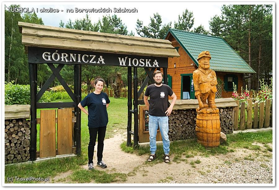 Agnieszka i Wojciech Weyna - gospodarze wioski witają!