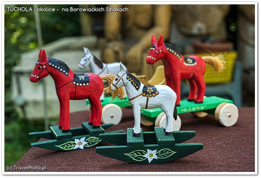 Zygmunt Kędzierski - drewniane zabawki