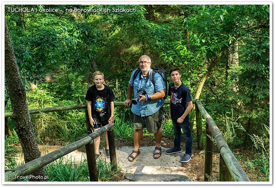 Bory Tucholskie - Wyprawa na Jelenią Wyspę
