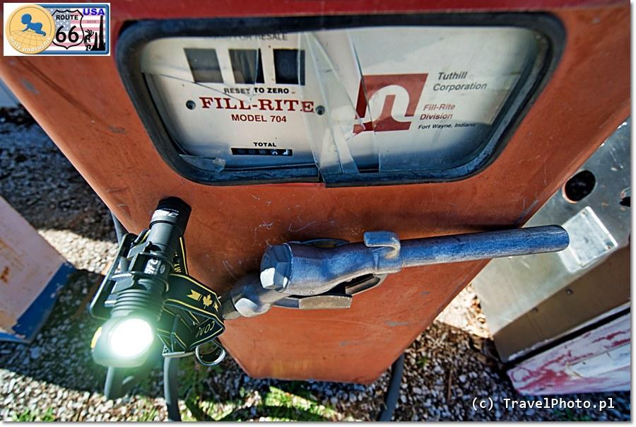 Na ROUTE 66 tak latarki ARMYTEK jeszcze nie napełnimy, ale pewnie już nad tym pracują... ;-)