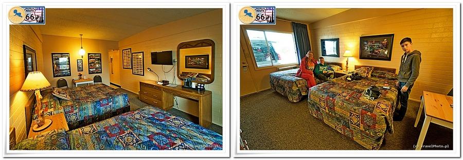 Grand Canyon Caverns - stylowe pokoje w motelu