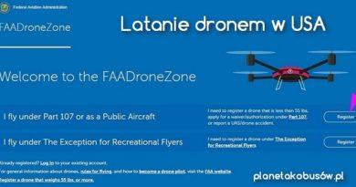 Latanie dronem w USA – to proste jak 1,2,3,…!